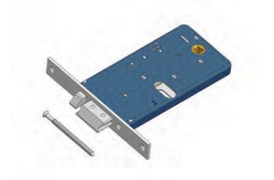 Защелка с потоком OMEC отчуждения течь электрический замок в диапазоне