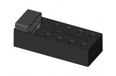 Монтаж элемент петли с ластовицей для пальто 80mm ESINPLAST