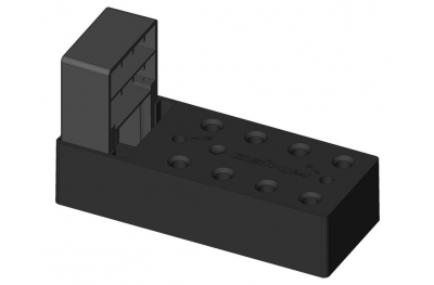 Монтаж элемент петли с ластовицей для пальто до 140мм ESINPLAST