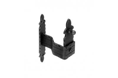 +1101 / V держатель затвора 170x30x3mm плиты Гэлбрейт Вуд Кованые