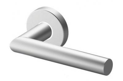 Пара Ручки ТРОКЭКС Toledo в Satin Steel Розетка из нержавеющей круглой или овальной формы