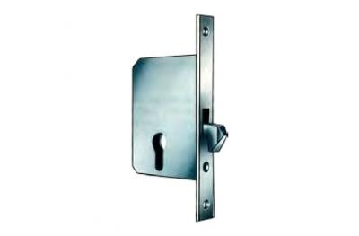 1222 Замок для раздвижных дверей с крючками effeff
