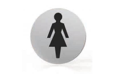 Пиктограмма для сопла Круглый ванная комната туалет женщин ТРОКЭКС
