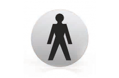 Пиктограмма для сопла Круглый ванная комната туалет Мужчины ТРОКЭКС