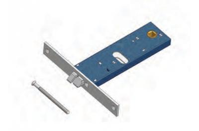 OMEC защелку электрический замок в диапазоне для алюминия