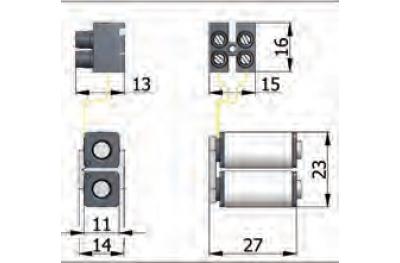 Катушки Группа OMEC электрический замок в диапазоне для алюминия