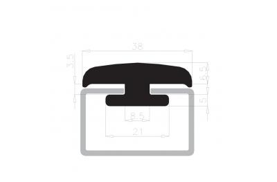 Стекло проведение печать стоит Complastex 10мм белая коробка катушки 25m