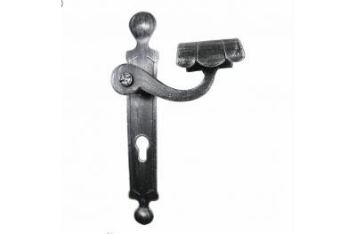 2036 ручки Круглые Кованые двери для пластины Lorenz Ferart