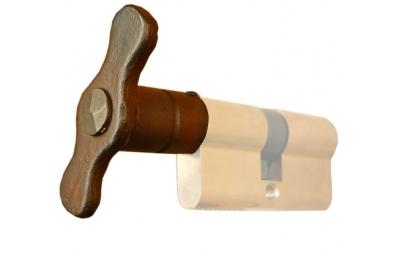 251 Ручка Цилиндр 40 мм отверстие Ø8mm Гэлбрейт Кованые