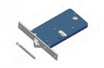 OMEC Диапазон замок крючок для алюминия