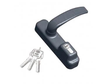 Аксессуары пластины OMEC Паника с ручкой и цилиндром ключевой плоским