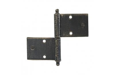 3059 Двойной шарнир для дверей и мебели Кованые Lorenz Ferart