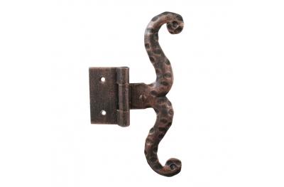 3060 Single Петля для дверей и мебели Кованые Lorenz Ferart