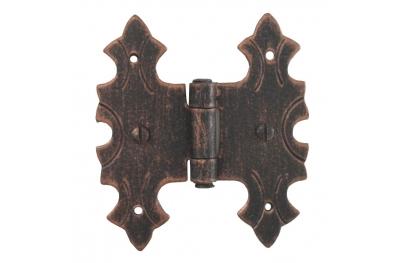 3071 Двойной шарнир для дверей и мебели Кованые Lorenz Ferart