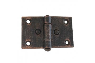 3073 Двойной шарнир для дверей и мебели Кованые Lorenz Ferart