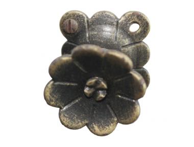 3188 Ручка Кованые цветочные для мебели Lorenz Ferart