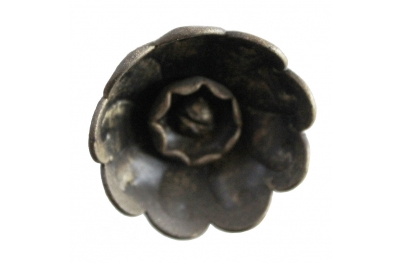 3218 Ручка цветка Розетта Кованые Мебель для Lorenz Ferart