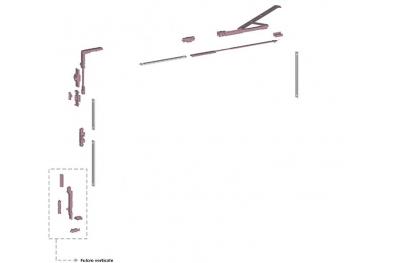 Ribantatre Савио группа Основная R Рычаг Сводные короткие вертикальные