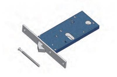 Крюк замка OMEC Механика Группа Алюминиевые