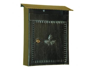 6001 Кованый ручной почтовый ящик проведения конвертов и газету Lorenz Ferart