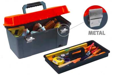 651 Plano Toolbox с металлическим Closures Contractor Line