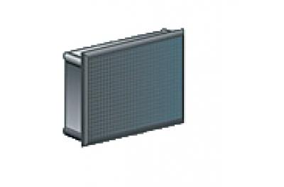 Прямоугольный штекер Медаль нейлон черный Упаковка из 100 шт Различные размеры