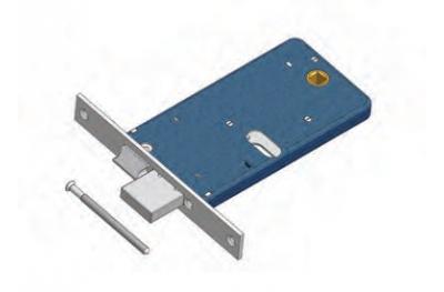 Deadbolt и защелкой для диапазона OMEC механики алюминия