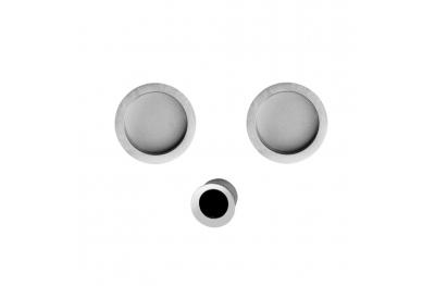 Agropoli Комплект для раздвижных дверей с защелками Blind Pasini я-Design