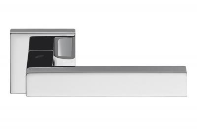Ellesse Полированная хромированная дверная ручка на розетке Studio Bartoli для Colombo Design