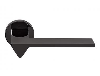 Черная дверная ручка Ama Grafite на розетке Идеально подходит для архитекторов Colombo Design
