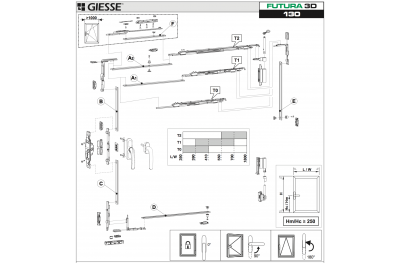 Анта Рибалта 3D Futura для Cremonese Базовая конфигурация Giesse