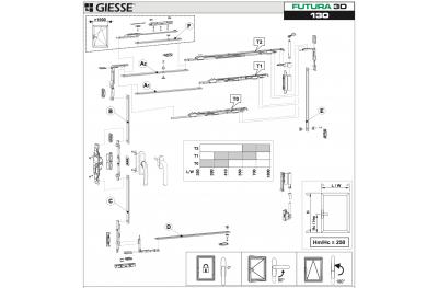 Анта Рибалта 3D Futura для Хаммера Базовая конфигурация Giesse