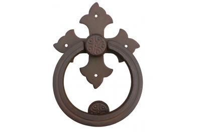 Полет крест с кольцом Гэлбрейт кованого железа