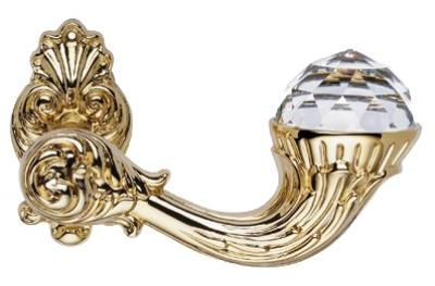 Бриллиант Кристалл чистое золото ручка порт Rosetta Linea Cali Vintage