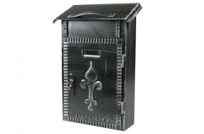 Почта журналы Богатырские ворота Кованые окрашены в черный цвет IBFM