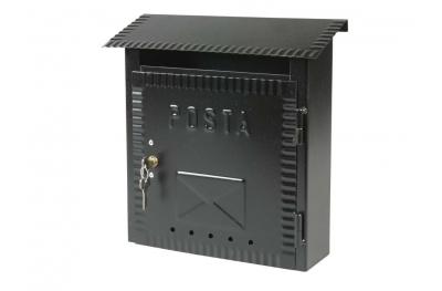 Почта Малый Кованые окрашены в черный цвет IBFM