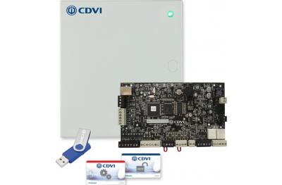 Центральный Гибридный A22 АТРИУМ ведущего или ведомого устройства в металлическом корпусе Access Control CDVI