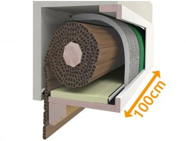 Композиционная коробка 100 см для изоляционной ставни PosaClima Renova
