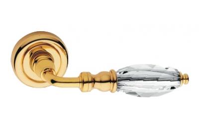 Алмазный чистое золото Ручка порт Rosetta Linea Cali Кристалл