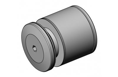 Прокладка для перил PHC-40 Inox Aisi 316 SpeedyByCasma
