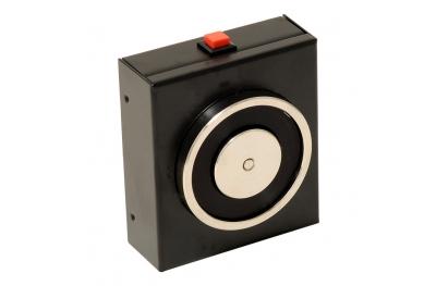 Сокрытие Black электромагнит 140 кг с кнопкой выпуска 18101 Opera