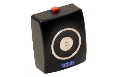 Сокрытие Черный электромагнит с кнопкой выпуска 19001 Opera