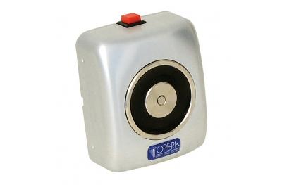 Сокрытие алюминиевого электромагнит с кнопкой выпуска 19002 Opera