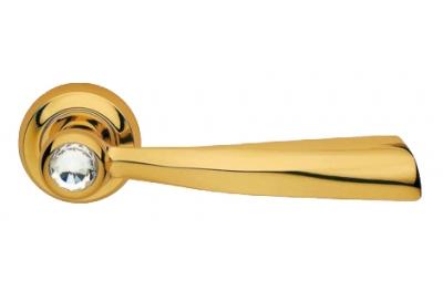 Элика Кристалл чистое золото Ручка порт Rosetta Linea Cali Кристалл
