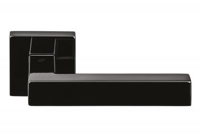 Ellesse Grafite Черная дверная ручка на розетке от Colombo Design