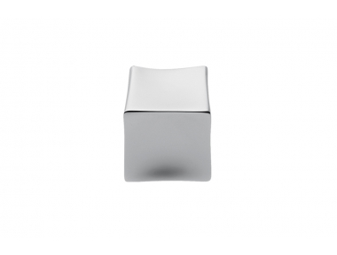 F514 Хромированная ручка для мебели в форме кубетто Дизайн, сделанный в Италии Formae