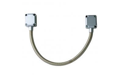 Металлический кабельный ввод GF45 450 мм для установки на автоматические ворота и двери CDVI
