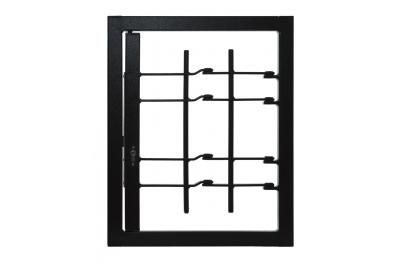 Решетки свет 1 Дверь с совместным класса безопасности 3 кадра Стандартный Леон Отверстия