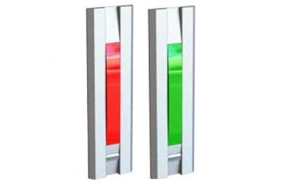 Свет с красной кнопкой Зеленые двери для 55031 серии профилей Opera