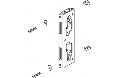 Комплект для подключения Нова Giesse Оконная ручка Cremonese Art.02250